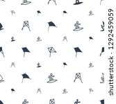 kite icons pattern seamless... | Shutterstock .eps vector #1292459059