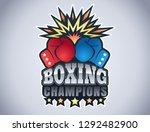 vector vintage emblem for a... | Shutterstock .eps vector #1292482900