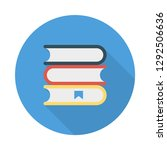 book  bookmark   education   | Shutterstock .eps vector #1292506636