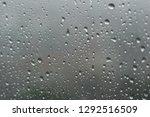 Raindrops On Glass Window     ...
