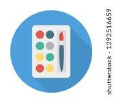 palette   color  brush  | Shutterstock .eps vector #1292516659