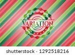variation christmas style badge.... | Shutterstock .eps vector #1292518216