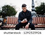 handsome and fashionable indian ...   Shutterstock . vector #1292525926