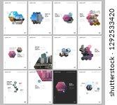 minimal brochure templates with ... | Shutterstock .eps vector #1292533420