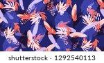 contemporary creative... | Shutterstock .eps vector #1292540113
