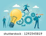innovation business team | Shutterstock .eps vector #1292545819