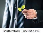 environmental lawyer or... | Shutterstock . vector #1292554543