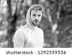 thinking about future... | Shutterstock . vector #1292559556