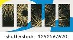 editable trendy template for... | Shutterstock .eps vector #1292567620