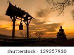 Buddha Statue In Sunset At ...