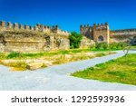 old fortification of... | Shutterstock . vector #1292593936