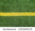 football field green grass line ... | Shutterstock . vector #1292630119