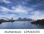 Sydney City Cbd And Harbour...