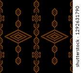 collection of songket batik... | Shutterstock .eps vector #1292631790