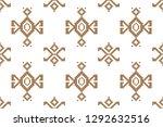 collection of songket batik... | Shutterstock .eps vector #1292632516