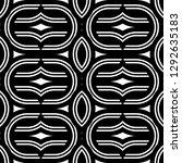 design seamless monochrome...   Shutterstock .eps vector #1292635183