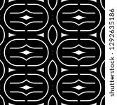 design seamless monochrome...   Shutterstock .eps vector #1292635186
