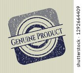blue genuine product distress... | Shutterstock .eps vector #1292664409