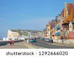 second house at mers les bains  ... | Shutterstock . vector #1292666020