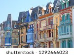 second house at mers les bains  ... | Shutterstock . vector #1292666023