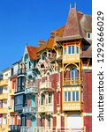 second house at mers les bains  ... | Shutterstock . vector #1292666029