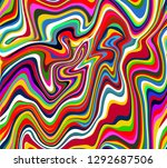 vector seamless pattern of... | Shutterstock .eps vector #1292687506