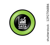 data analysis  graph icon ... | Shutterstock .eps vector #1292706886