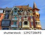 mers les bains  france  ... | Shutterstock . vector #1292728693