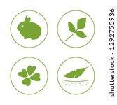 vector set of logo design... | Shutterstock .eps vector #1292755936