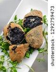 portuguese black ink cuttlefish ... | Shutterstock . vector #1292759473