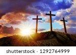 Crucifixion Of Jesus Christ At...