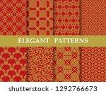 8 different elegant classic... | Shutterstock .eps vector #1292766673