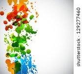 splash background. raster... | Shutterstock . vector #129277460