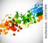splash background. raster... | Shutterstock . vector #129277490