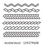set of patterns. eps8 vector | Shutterstock .eps vector #129279608