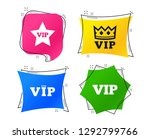 vip icons. very important... | Shutterstock .eps vector #1292799766