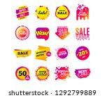 sale banner templates design.... | Shutterstock .eps vector #1292799889