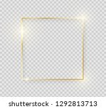 gold shiny glowing vintage... | Shutterstock .eps vector #1292813713