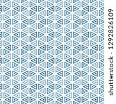 contemporary grid pattern.... | Shutterstock .eps vector #1292826109