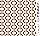 contemporary grid pattern.... | Shutterstock .eps vector #1292826130