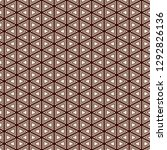 contemporary grid pattern.... | Shutterstock .eps vector #1292826136