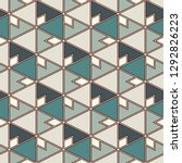 contemporary geometric pattern. ... | Shutterstock .eps vector #1292826223