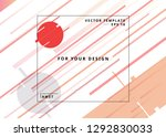 web design template. geometric...