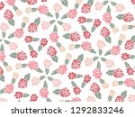 happy valentine's day with... | Shutterstock .eps vector #1292833246