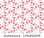 happy valentine's day with... | Shutterstock .eps vector #1292833249