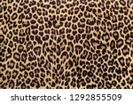 leopard effect  fabric pattern  ... | Shutterstock . vector #1292855509