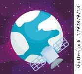 earth planet design | Shutterstock .eps vector #1292879713