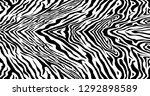 zebra pattern  | Shutterstock .eps vector #1292898589