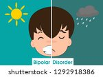 bipolar disorder makes you feel ... | Shutterstock .eps vector #1292918386
