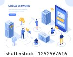 Social Network Concept. Can Use ...